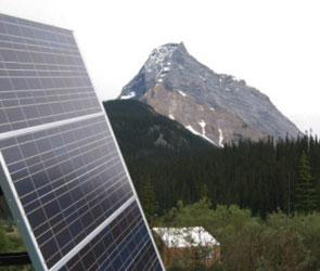 Un kit solar que inyecta directamente su energia a la red domestica.