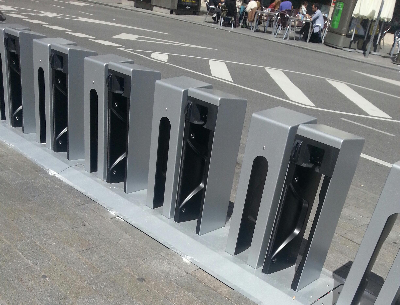 Bicicletas de Madrid: BiciMAD