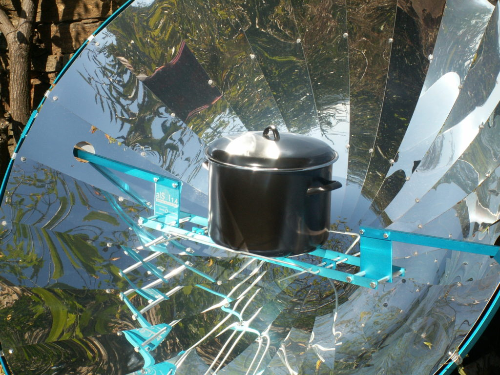 Cocina solar Alsol K14